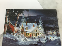 Snow Covered House Gift Card