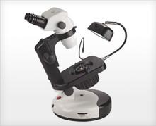 Accu-Scope 3075 Binocular Zoom Stereo Microscope on Gem Stand