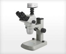 Accu-Scope 3075 Trinocular Zoom Stereo Microscope on E-LED Stand