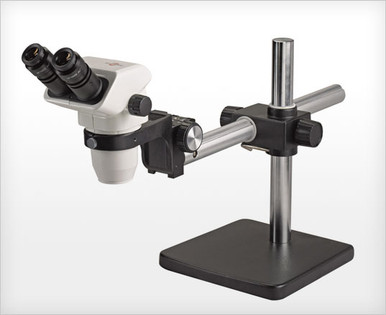 Accu-Scope 3075 Binocular Zoom Stereo Microscope on Boom Stand
