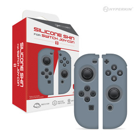 Silicone Skins for Switch Joy-Con (Neo Gray) - Hyperkin
