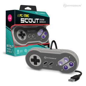"""Scout"" Premium SNES-Style USB Controller for PC/ Mac - Hyperkin"