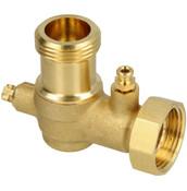 "Viessmann Angled ball valve G 1"" 7815671"