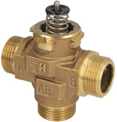 "Honeywell VCZMQ6000, 1"" ET Three-way diverter valve"
