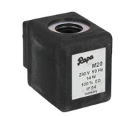 Rapa M20 230V 50Hz, 14W Solenoid spool