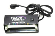 Genuine Fraud Fighter UVeritech HD8X1-120A Fluorescence Detection UV Black Light W/ Mountable Metal Case