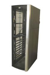HP 10642 G2 Server Cabinet Case 383573-001 143845-001 W/ Rails, Missing Panels