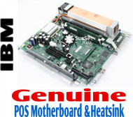 IBM SurePOS 500 POS 4840 Motherboard & Heatsink Assembly 66P2098 66P2099