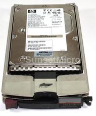 HP Storageworks 146GB 15K FC 2 GBIT Hard Drive 359709-003  w/Tray