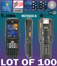 Lot of 100 Motorola / Zebra MC9596 MC9500-K  Hand Held Computer 1D/2D Barcode Scanner KFAEAB00100