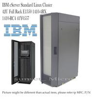 IBM eServer Standard Linux Cluster 42U Full Rack E1350 1410-4RX 1410-RC4 41Y0557 NEW SEALED