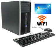 HP Elite 8200 Desktop Computer PC  i5-2400  3.10GHz 4GB 250GB DVDRW Win 7 Pro 64-Bit WIFI