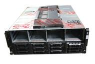 DELL EqualLogic PS6100E E05J E05J001 Storage Array Chasis FFGC3 0FFGC3 W/ HD Fillers & Front Bezel