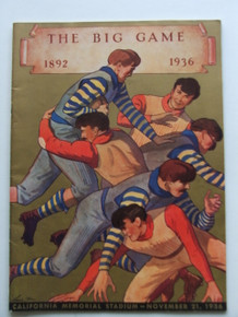 Stanford v. California Football Program 1936