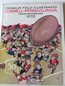 Cornell v. Penn Football Program 1929