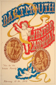 Dartmouth Winter Carnival - Original Poster 1971