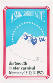 Dartmouth Winter Carnival - Original Poster 1976