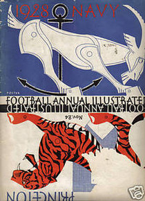 Princeton v. Navy Football Program 1928