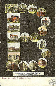 Brown University Postcard