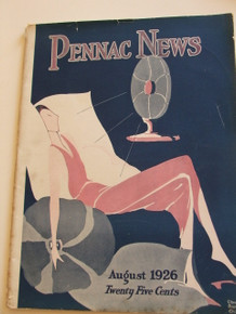 Pennac News August 1926 - Penn Athletic