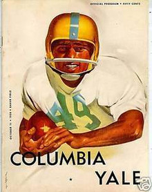 Yale v. Columbia Football Program 1958