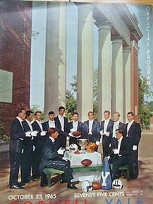 Cornell v. Yale Football Program 1965 Whiffenpoofs