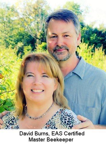 David and Sheri Burns, Beekeepers