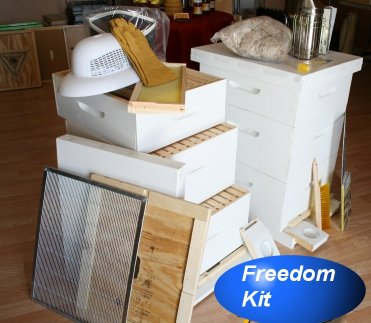 Freedom Bee Hive Kit