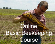 Online Basic Beekeeping Course- ONLINE ONLY + 1 Free Month Of Beekeeping Coaching .