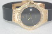 Womens Hublot 18k Gold Watch