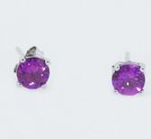10 Carat Birthstone Earrings - S82