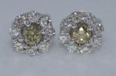 14k Diamond Earrings - EK13