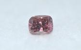 Cushion Cut Fancy Pink Diamond - EK15