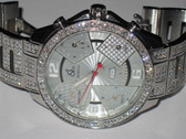 Mens Jacob & Co 47mm Diamond Watch