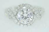 Round Cut Diamond Engagement Ring - EK29