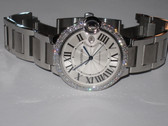 Mens Cartier Ballon Bleu Diamond Watch