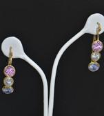 Womens 14k Yellow Gold Loop Earrings - LC306