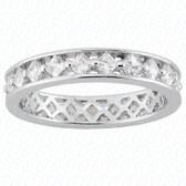 Princess Diamond Eternity Band - EWB490