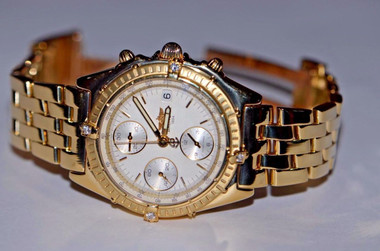 40mm Case Size - 18K Solid Yellow Gold