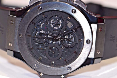 44mm Case Size - Black PVD Stainless Steel