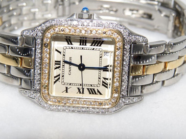 28mm Case Size-18K and Stainless Steel