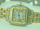 Women's Cartier Panther 18K Gold 3 Lines Of Gold Watch