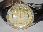 Mens Jacob & Co JC 18K Gold 47mm Watch