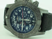 Men's Breitling Super Avenger II Military Limited Edition 500 World Wide Watch