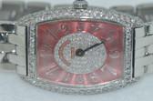 Womens Franck Muller Chronometro 1752 QZ Diamond Watch