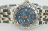 Womens Breitling Chronomat Callistino 18K Gold Two Tone Watch