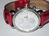 Womens Michele CSX Diamond Chronograph Watch