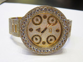 Mens Jacob & Co 18K Gold Diamond Watch