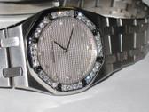 Womens Audemars Piguet Royal Oak Diamond Watch