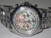 Mens Breitling Bentley 6.75 Diamond Watch